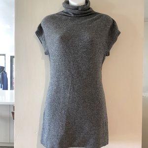 VINCE Cashmere Cap Sleeve Tunic Sweater